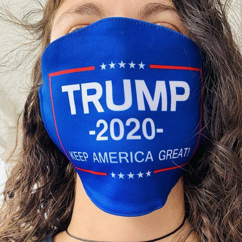 Trump 2020 Face Mask Keep America Great