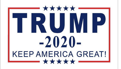 Image of Trump Flag 2020 Keep America Great - 3x5 - Screen Printed (Made in USA)