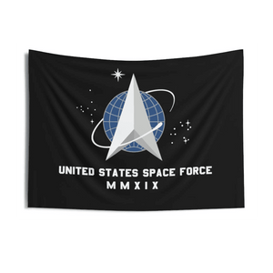 US Space Force Flag Economical Single or Double sided