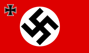 German Nazi Party Flag with Iron Cross 3 X 5 ft. Standard