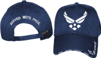 vendor-unknown Additional Flags Air Force Retired Cap