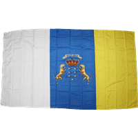 vendor-unknown Additional Flags Canary Islands 3 X 5 ft. Standard
