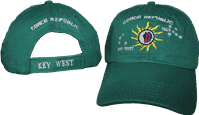 vendor-unknown Additional Flags Conch Republic Forest Green Washed Cap