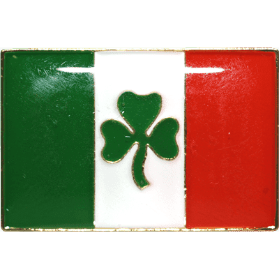 vendor-unknown Additional Flags Ireland Shamrock Lapel Pin