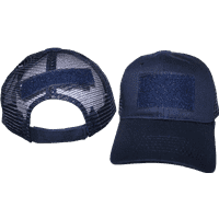vendor-unknown Additional Flags Operator Mesh Dark Navy Blue Cap