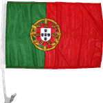 vendor-unknown Additional Flags Portugal Car Flag