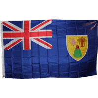 vendor-unknown Additional Flags Turks and Caicos Islands 3 X 5 ft. Standard