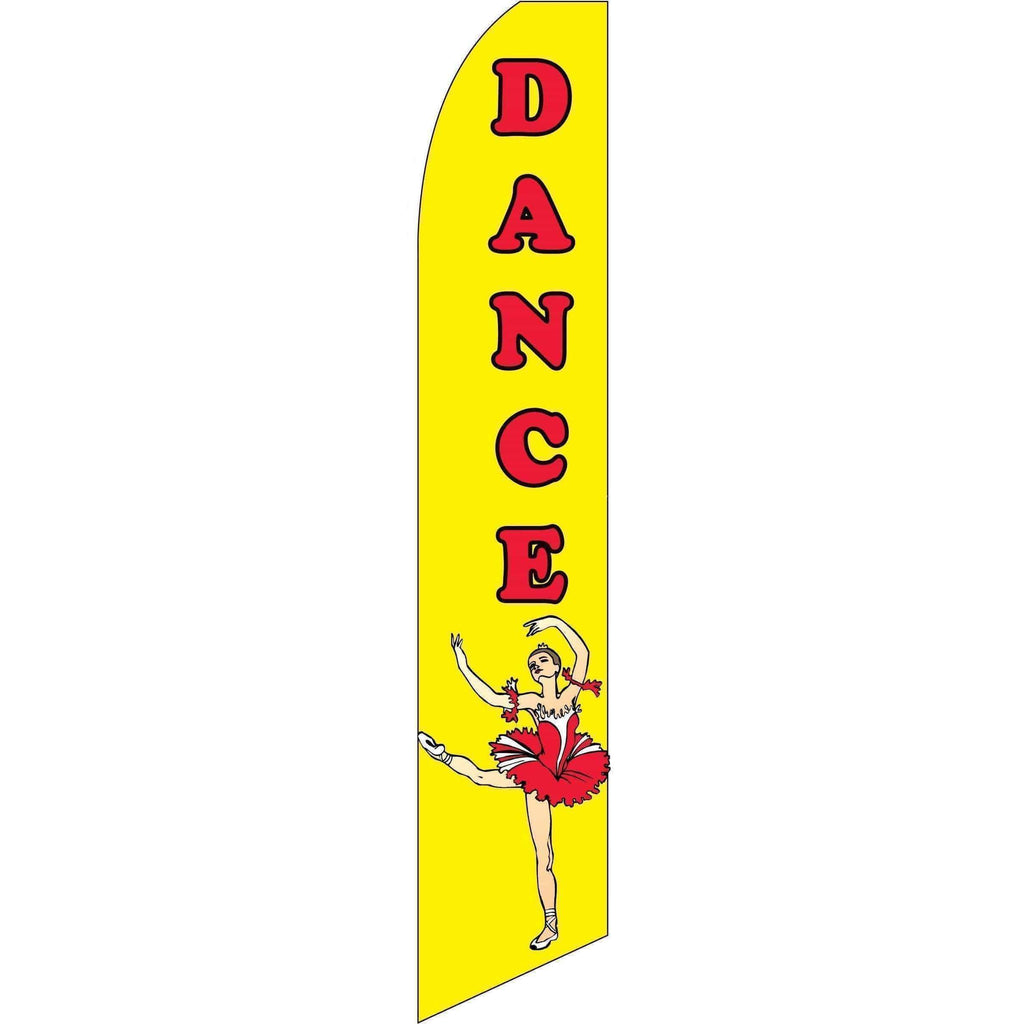 vendor-unknown Advertising Flags Dance Advertising Flag (Complete set)