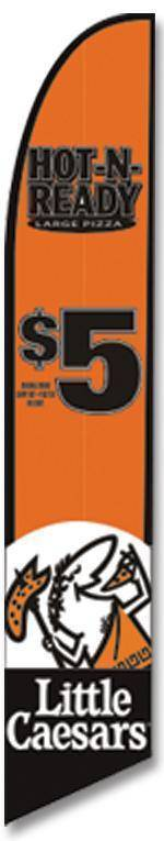 Little Caesars $5 Advertising Banner (Complete set)
