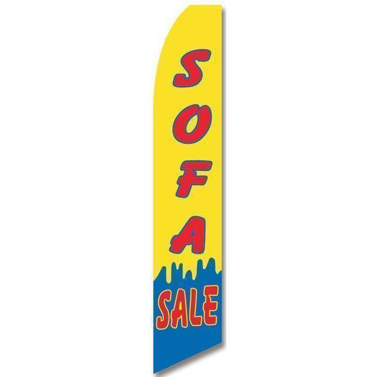 vendor-unknown Advertising Flags Sofa Sale Advertising Flag (Complete set)