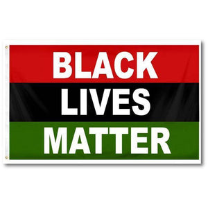 Black Lives Matter Afro-American Flag Rough Tex® 100D BLM