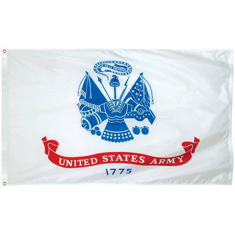 Image of US Army Emblem Flag - Double Knitted Nylon