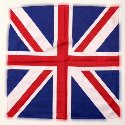 Image of RU Bandana UK Bandana or Kerchief 22x22 inches 100% Cotton