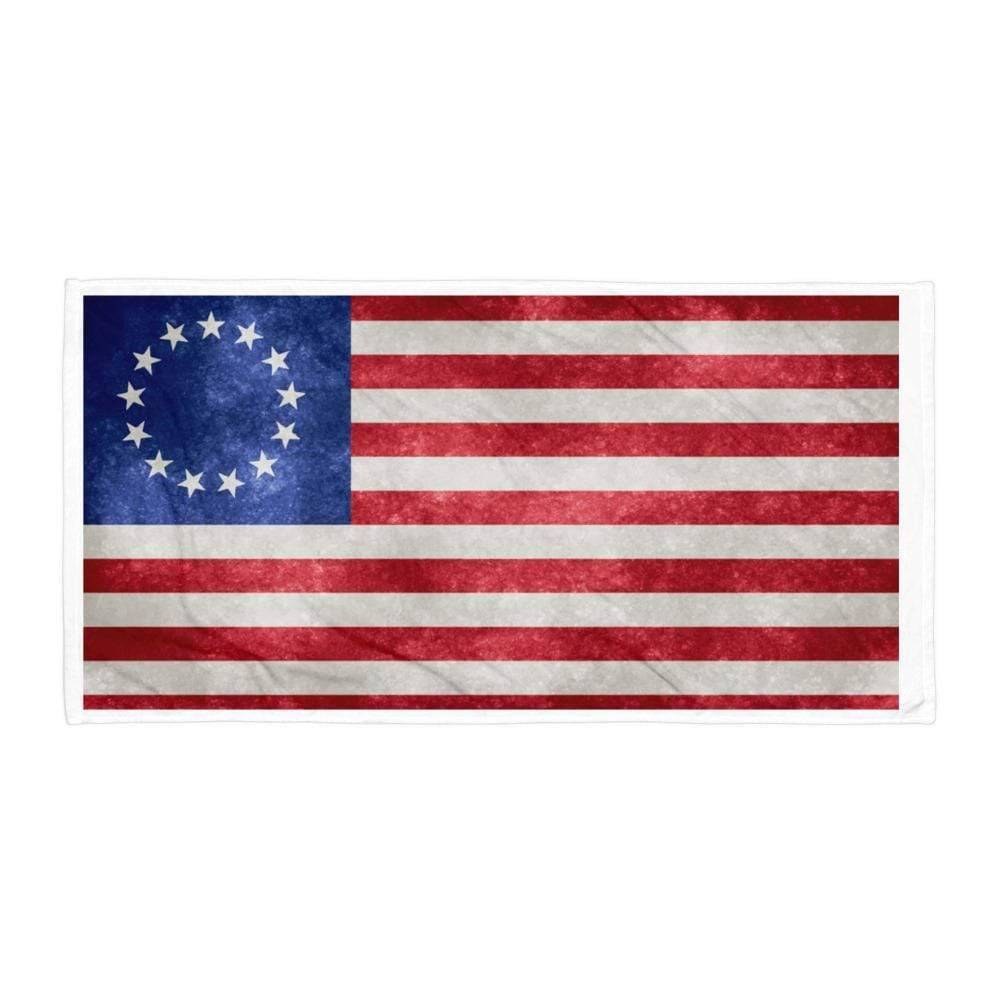 Ultimate Flags Betsy Ross Beach Towel
