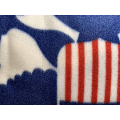 Ultimate Flags Blanket Deluxe Polar Fleece Blanket - Coast Guard - 50 x 60 inch - Clearance