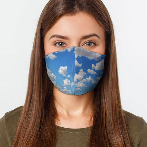 Image of Clouds Preventative Face Mask
