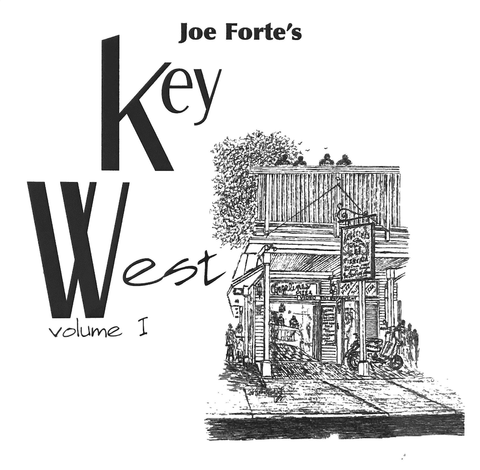 Joe Forte Book First Joe Forte's Key West Volume I Hardbound, with 2x3 ft flag - Conch Republic - Key