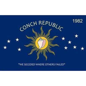 RU Bumper Sticker Conch Republic Bumper Sticker