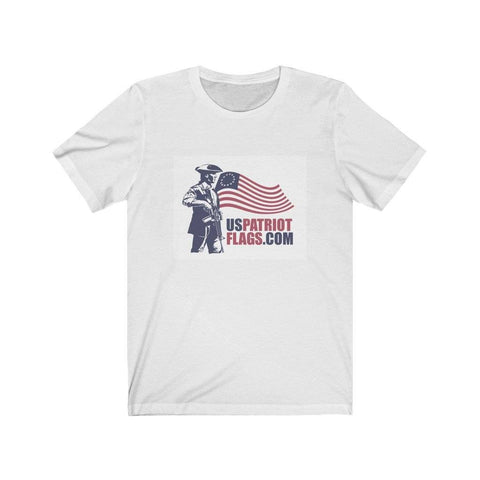US Patriot Flags Unisex Jersey Short Sleeve Tee