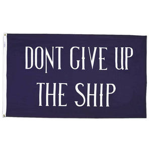 3x5 ft Commodore Perry Flag, Don't Give Up the Ship Flag