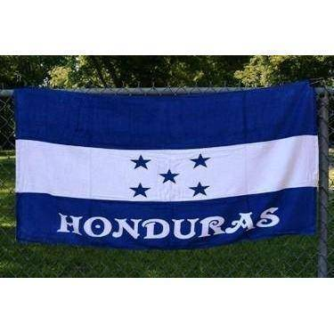 vendor-unknown Country & National Flags Honduras Beach Towel