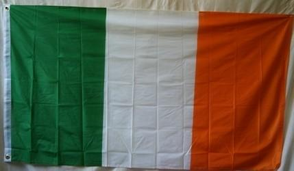 vendor-unknown Country & National Flags Ireland Knitted Nylon 5 x 8 Flag