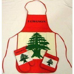 vendor-unknown Country & National Flags Lebanon Cooking Set