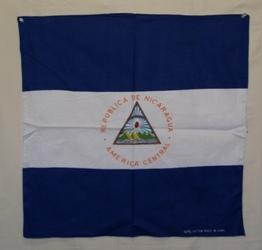 vendor-unknown Country & National Flags Nicaragua Bandana
