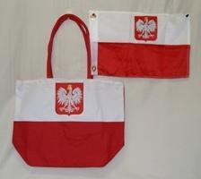 vendor-unknown Country & National Flags Poland Beach Bag