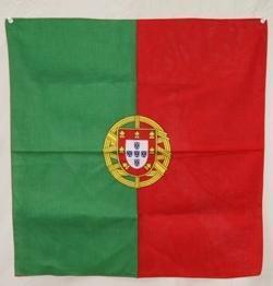 vendor-unknown Country & National Flags Portugal Bandana