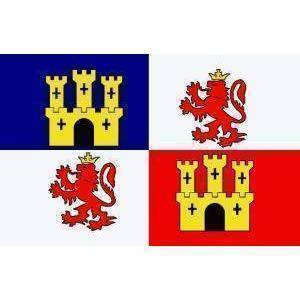 vendor-unknown Country & National Flags Spain Lions and Castles Flag 3 X 5 ft. Standard