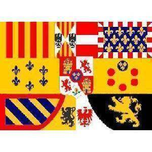 vendor-unknown Country & National Flags Spain Royal Banner Flag 3 X 5 ft. Standard