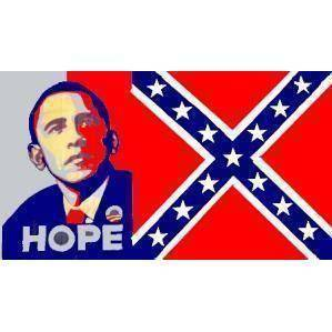Rebel Obama Hope Flag 3 X 5 ft. Standard