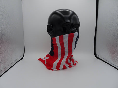 Image of USA AMERICAN FLAG Face Mask Bandanna Made in USA