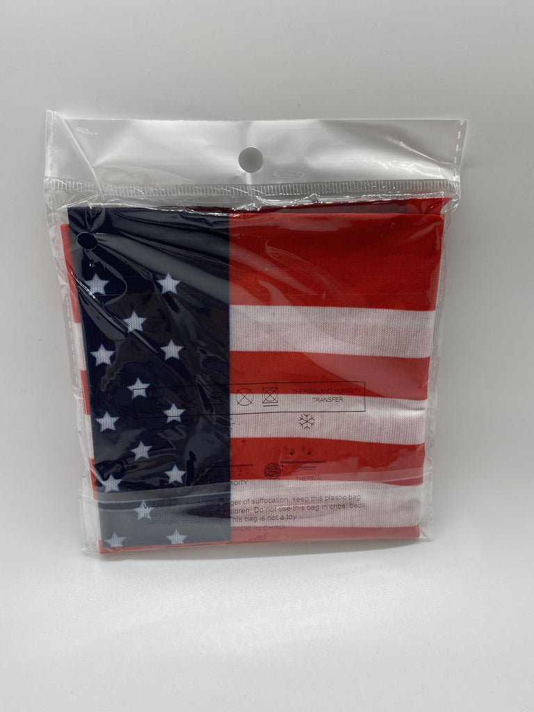 USA AMERICAN FLAG Face Mask Bandanna Made in USA