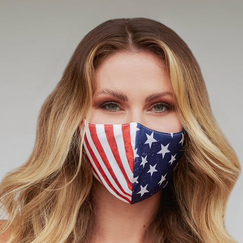 Image of American Flag Face Mask