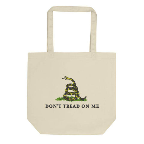 Gadsden Don't Tread On Me Eco Tote Bag