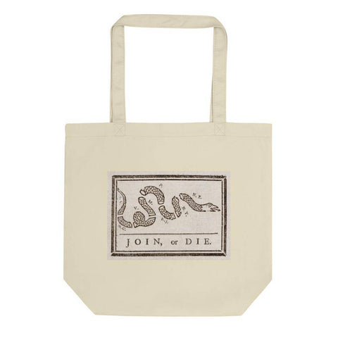 Join or Die Eco Tote Bag