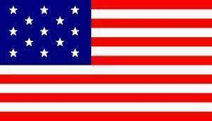 RU Flag 13 Star USA Flag - Hopkinson Flag 3 X 5 ft. Standard