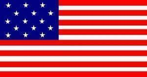 Eder Flag 15 Stars 15 Stripes U.S. 2 x 3 Nylon Appliqued Flag (USA Made)