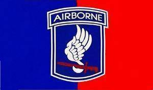 vendor-unknown Flag 173rd Airborne Flag 3 X 5 ft. Standard