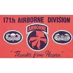vendor-unknown Flag 17th Airborne Flag 3 X 5 ft. Standard