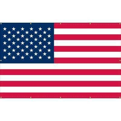 Image of RU Flag 3x5 50 Star USA Flag - American Flag - 3 x 5 ft  Standard