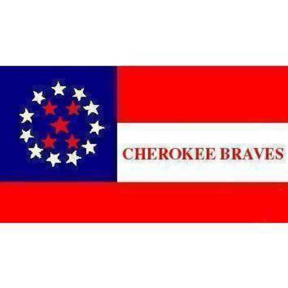RU Flag 3x5 Cherokee Braves Flag - 3 X 5 ft - Standard