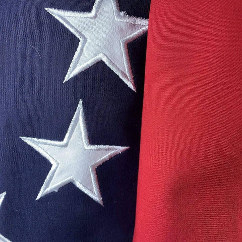 Image of RU Flag 3x5 / Cotton First National Confederate Flag - Cotton - 13 Star 1 in middle - 3 x 5 ft.