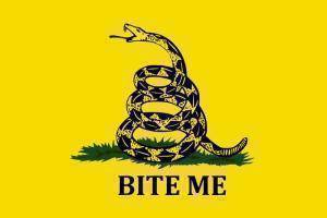 RU Flag 3x5 Gadsden Bite Me Flag 3 X 5 ft. Standard