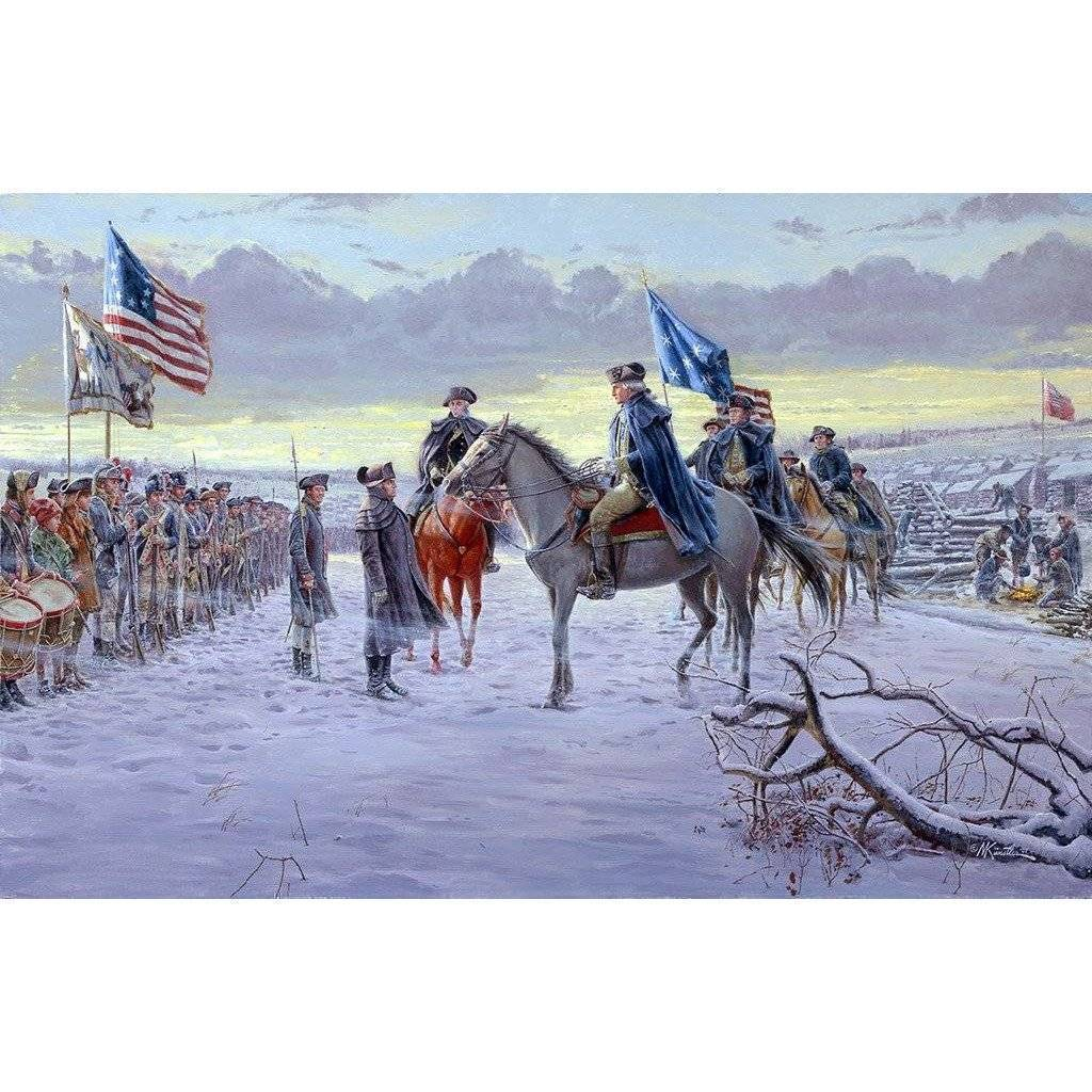 RU Flag 3x5 George Washington 1775 Valley Forge Headquarters Flag 3 X 5 ft. Standard