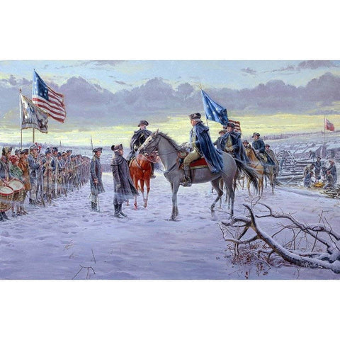 Image of RU Flag 3x5 George Washington 1775 Valley Forge Headquarters Flag 3 X 5 ft. Standard