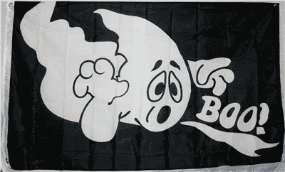 vendor-unknown Flag 3x5 Halloween Boo! 3 x 5 Flag Standard
