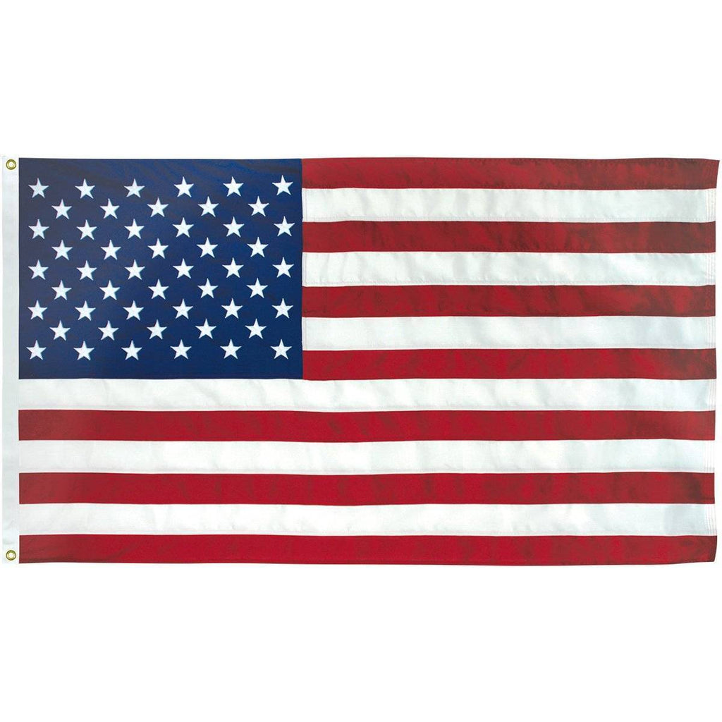 Collins/Eder Flag 3x5 / Poly-Max USA Flag-Commercial-Poly-Max Embroidered -3x5,4x6,5x8,6x10,50x80 ft (Made in America)